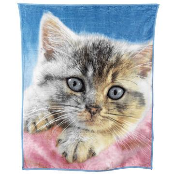 Fun Fur Throw - Kitten
