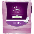 Poise Pads Maximum Absorbency - Long Length - 39's