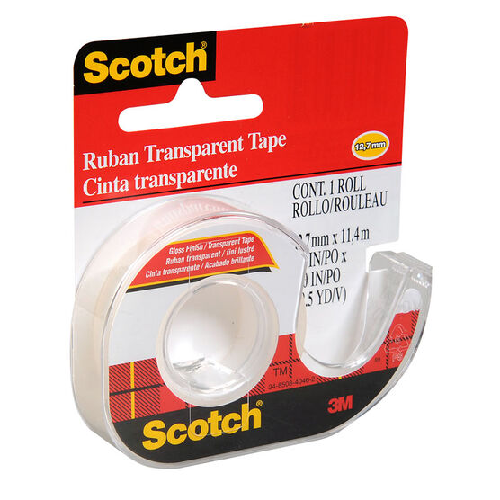3M Scotch Transparent Tape - 12.7mmx11.4M