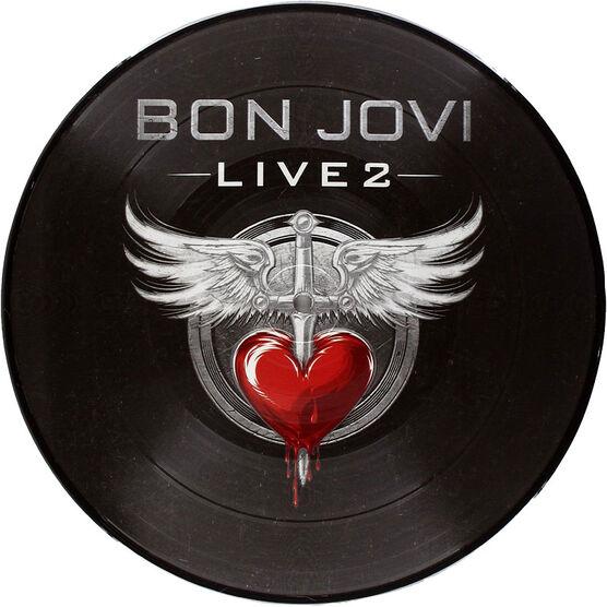 Bon Jovi - Live 2 - Vinyl