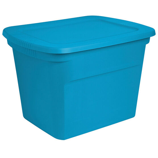 Sterilite Tote - Blue Aqua - 68L