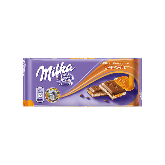 Milka Caramel Chocolate - 100g
