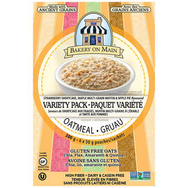 Bakery On Main Oatmeal - Variety Pack - 6x50g