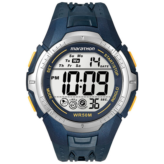 Timex Marathon Digital Watch - Blue/Silver - T5K355C2