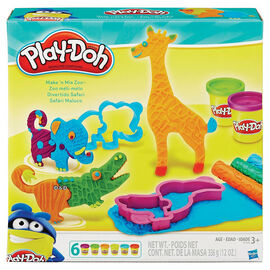 Play-Doh Make N' Mix Zoo