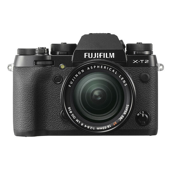 Fujifilm X-T2 with XF 18-55mm Lens - Black - 600016990
