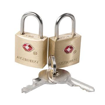 Austin House Brass Mini Lock - Assorted
