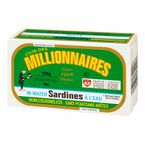 Club Des Millionaires Sardines in Water - 124g