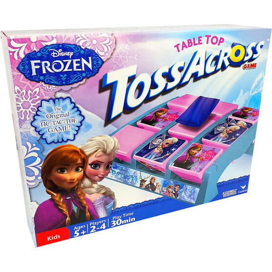 Frozen Tabletop Toss Across Game