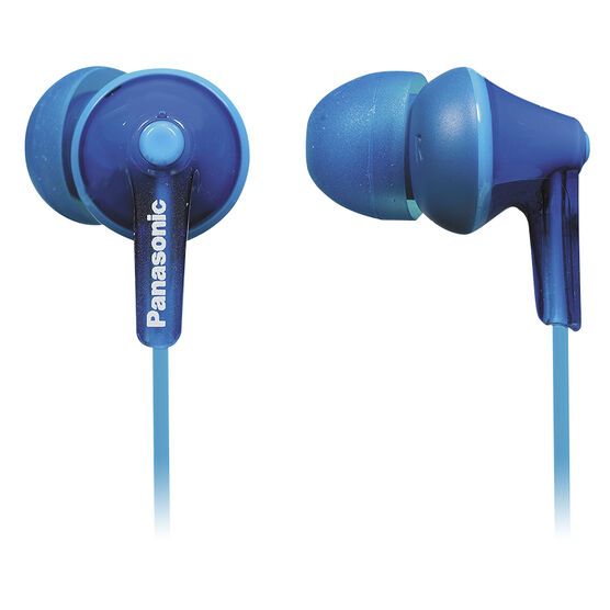 Panasonic Earbud with Mic - Blue - RPTCM125A