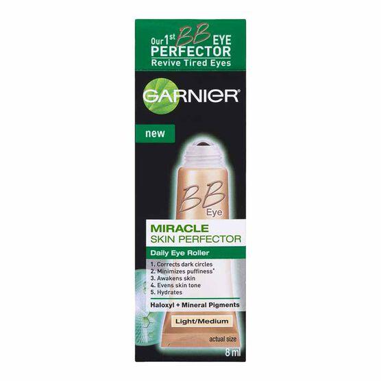 Garnier BB Eye Miracle Skin Perfector Eye Roller - Light/Medium - 8ml