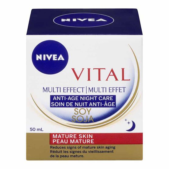 Nivea Visage Vital Multi-Effect Anti-Age Night Care - 50ml