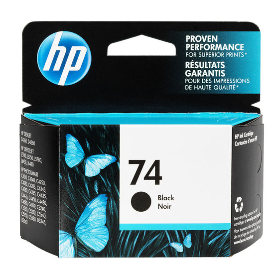 HP 74 J5700 Series Ink Cartridge - Black - CB335WC-140