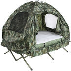 Double Camping Bed with Foot Pump - 17774