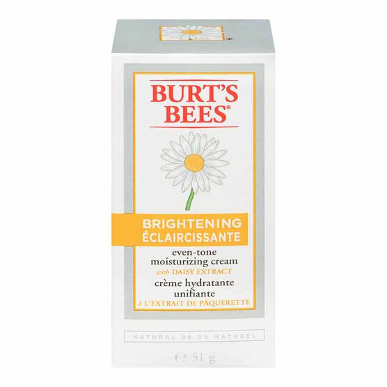 Burt's Bees Brightening Moisturizing Cream - 51g