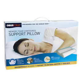 ObusForme Memory Foam Contoured Support Pillow