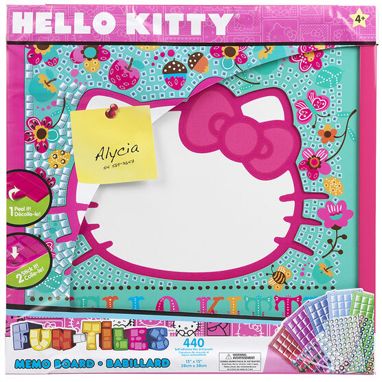Hello Kitty Fun Tiles Memo Board