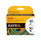 Kodak #30 Ink Combo Pack- Black and Color - 8781098