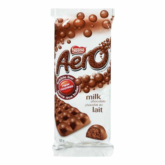 Nestle Aero Milk Chocolate Bubble Bar - 97g