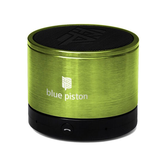Logiix Blue Piston Bluetooth Speaker - Lime - LGX10611