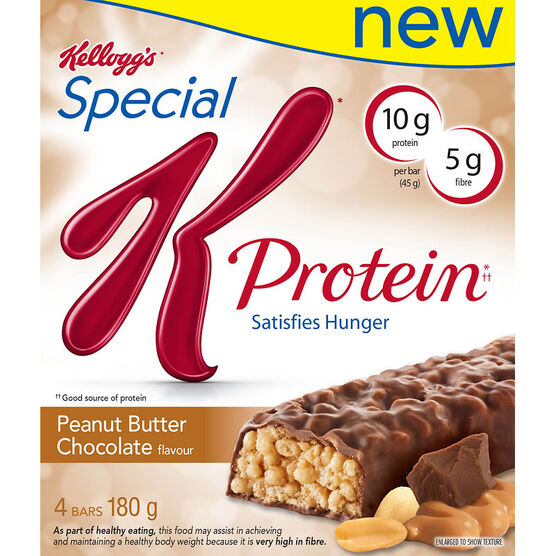 Kelloggs Special K with Protein - Peanut Butter Chocolate - 4 pack