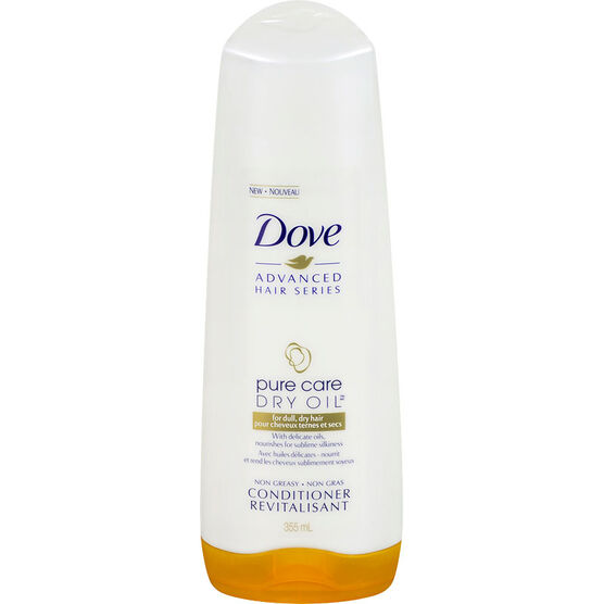 Dove Advanced Hair Series Pure Care Dry Oil Conditioner - 355ml