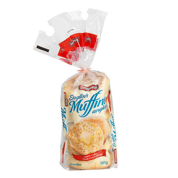 Dempsters Crisp English Muffins - 6 pack