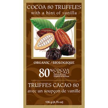 Rene Rey 80% Cocoa Truffles - 135g