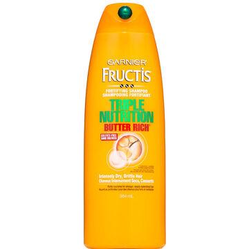 Garnier Fructis Triple Nutrition Shampoo - 384ml