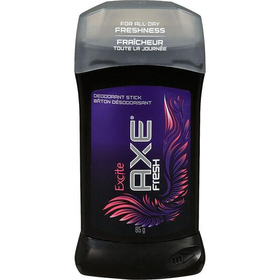 Axe Fresh Deodorant Stick - Excite - 85g