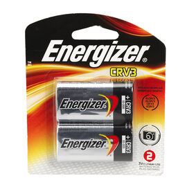 Energizer 3V Lithium Battery Single CRV3
