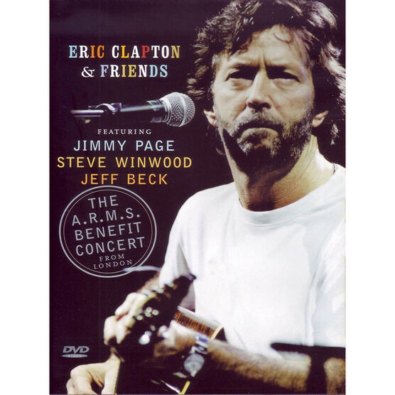 Eric Clapton and Friends: A.R.M.S. Concert - DVD