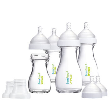 Born Free Breeze Glass Bottle Set - 48396