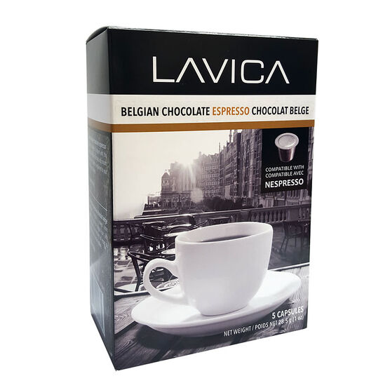 Lavica Espresso - Belgian Chocolate - 5 Pack