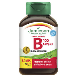 Jamieson B Complex 100 mg Timed Release - 90's
