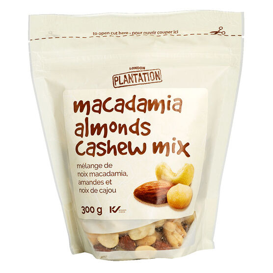 London Plantation Macadamia/Cashews/Almonds - 300g