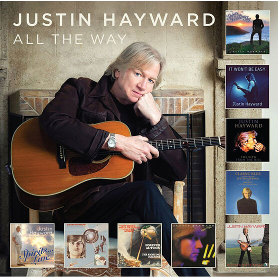 Justin Hayward - All The Way - CD