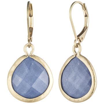 Lonna & Lilly Teardrop Earrings - Blue