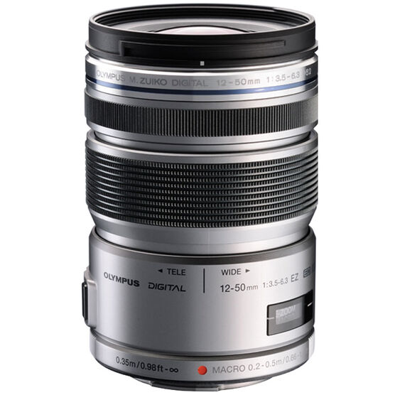 Olympus M.Zuiko ED 12-50mm f3.5-6.3 EZ - Silver - V314040BU000