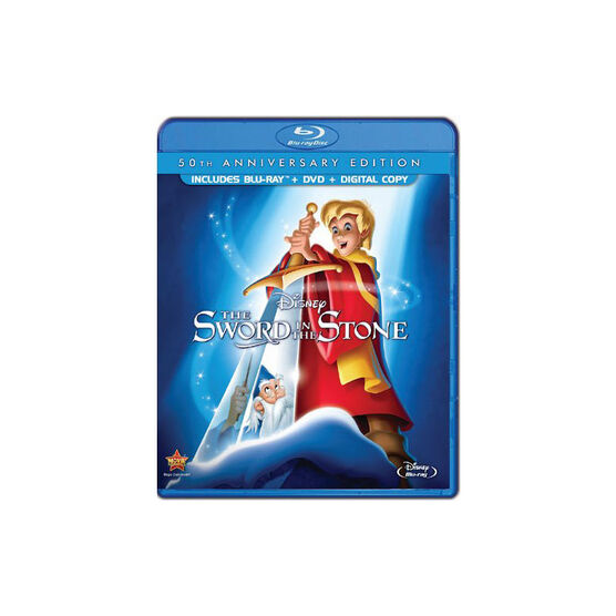 The Sword In The Stone: 50th Anniversary Edition - Blu-ray + DVD
