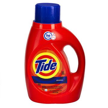 Tide HE Liquid Laundry Detergent - Original - 1.47L/32 use
