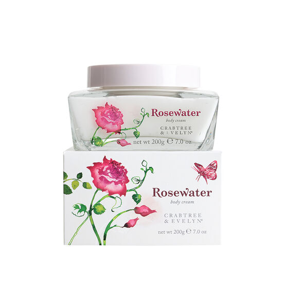 Crabtree & Evelyn Rosewater Body Cream - 200g