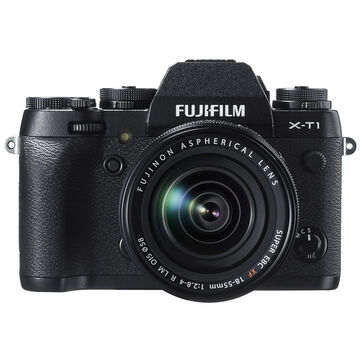 Fujifilm X-T1 with XF 18-55mm F2.8-4 R LM OIS Lens - 600013402