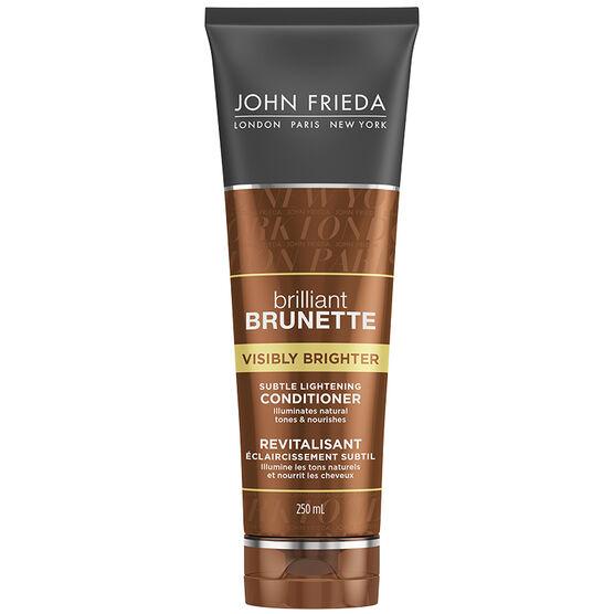 John Frieda Brilliant Brunette Visibly Brighter Conditioner - 250ml