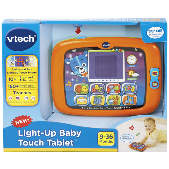 VTech Light-Up Baby Touch Tablet - 80151400