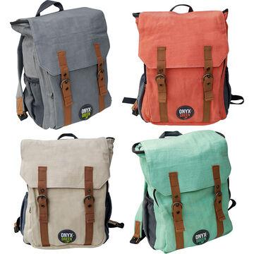 Onyx Green Backpack - Ramie - Assorted