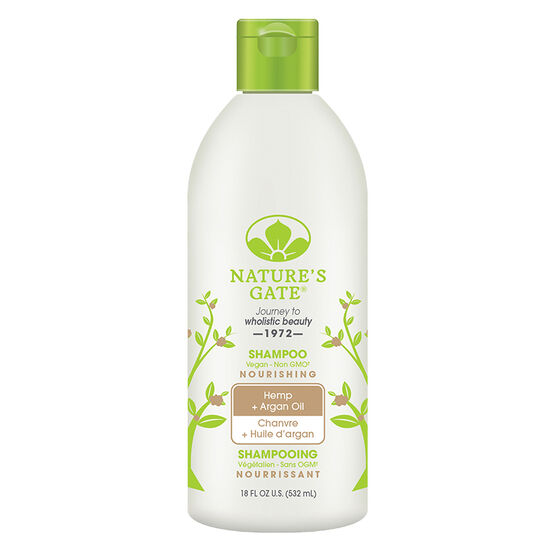 Nature's Gate Shampoo Hemp + Argan Oil - Nourishing - 532ml