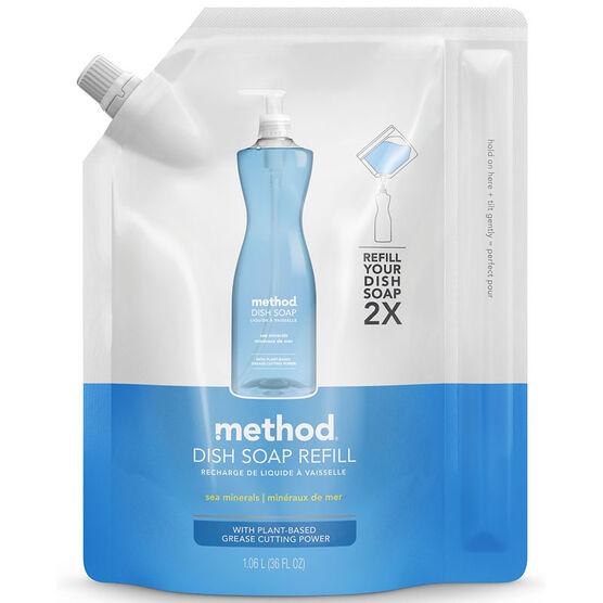 Method Dish Soap Refill - Sea Mineral - 1064ml