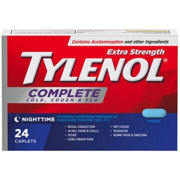 Tylenol* Complete Nighttime Extra Strength - 24's