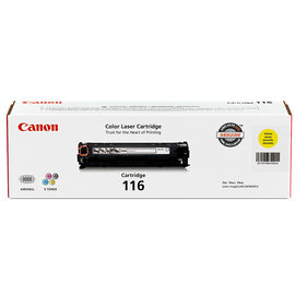Canon 116 Toner Cartridge - Yellow - 1977B001